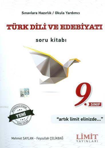 Limit Yayınları 9. Sınıf Türk Dili ve Edebiyatı Soru Kitabı Limit