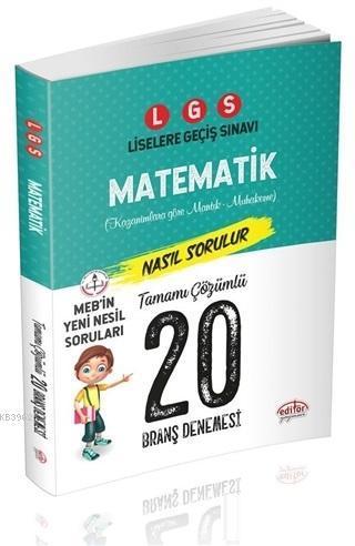 LGS Matematik Nasıl Çözülür 20 Branş Denemesi