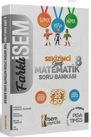 İsem Yayınları 8. Sınıf LGS Matematik Soru Bankası İsem