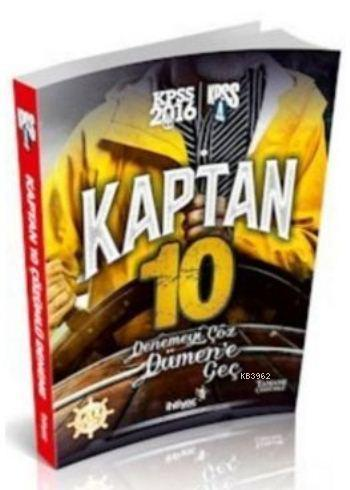 Kpss A Grubu Kaptan 10'lu Deneme 2016