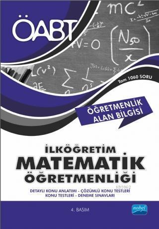 ÖABT İlköğretim Matematik Öğretmenliği - Öğretmenlik Alan Bilgisi