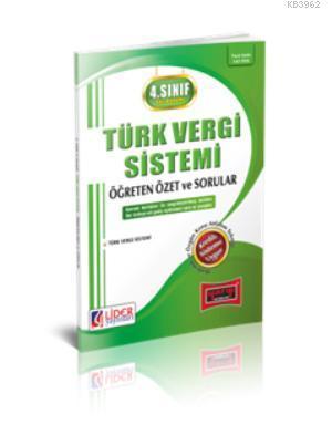 4. Sınıf Güz Dönemi Türk Vergi Sistemi 2015 Öğreten Özet ve Sorular