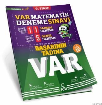 6. Sınıf Matematik Var Deneme Sınavı Arı Yayıncılık