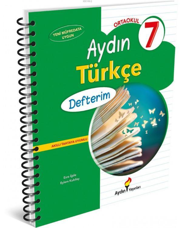 Aydın 7.Sınıf Türkçe Defterim