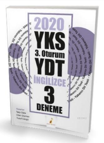 YKS 3.Oturum YDT İngilizce 3 Deneme Sınavı
