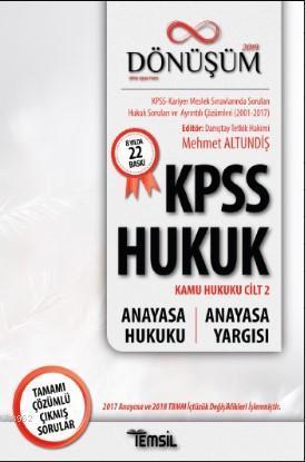 KPSS Hukuk - Dönüşüm - Anayasa Hukuku - Anayasa Yargısı