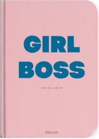2018 - 2019 Girl Boss Akademik Yıl Ajandası