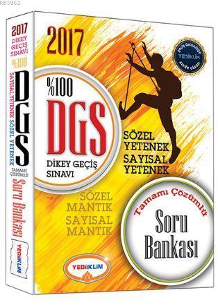 2017 DGS Tamamı Çözümlü Soru Bankası
