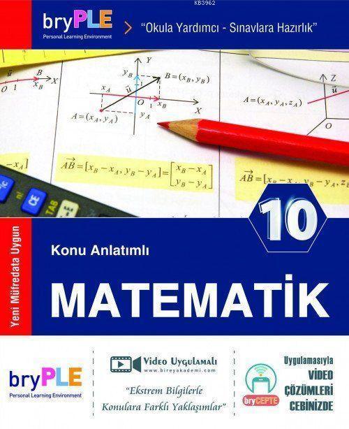 2019 10. Sınıf Matematik Konu Anlatımlı; Birey PLE