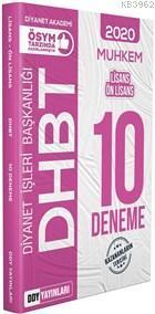 2020 DHBT Muhkem Serisi Lisans-Ön Lisans 10 Deneme