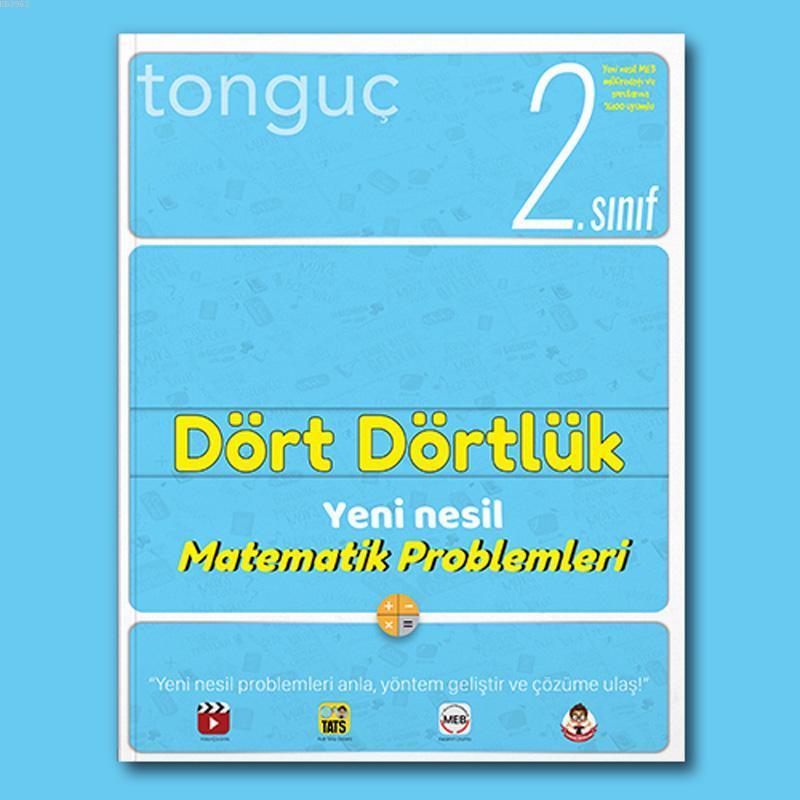 Tonguç 2.Sınıf Dört Dörtlük Yeni Nesil Matematik Problemleri