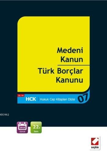 Medeni Kanun ? Türk Borçlar Kanunu