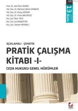 Açıklamalı Şematik Pratik Çalışma Kitabı 1; Ceza Hukuku Genel Hükümler
