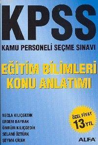 Kpss Eğitim Bilimleri Konu Anlatımı