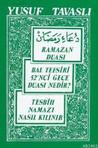 Ramazan Duası ve Bal Tefsiri (cep Boy) (C06)