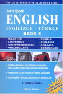 Let's Speak English Book 5; İngilizce-Türkçe
