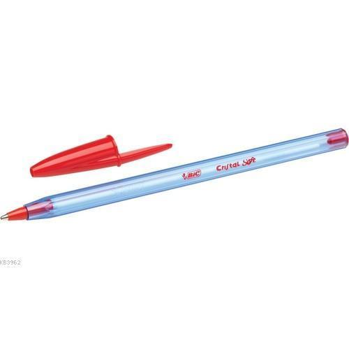 Bic Cristal Soft Tükenmez Kalem Kırmızı