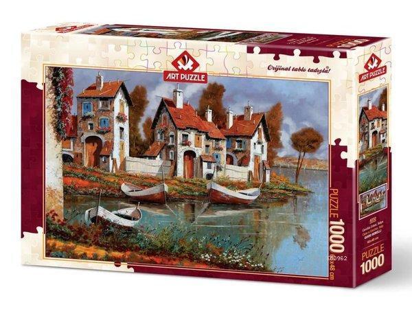 Art Puzzle 4232 Cerciho Evleri, İtalya 1000 Parça