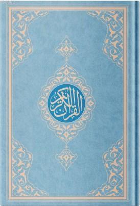 Orta Boy Resm-i Osmani Kur'an-ı Kerim (Özel, Mavi Kapak, Mühürlü, Kod:KR0041)