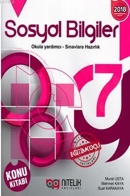 Nitelik Yayınları 7. Sınıf Sosyal Bilgiler Konu Kitabı Nitelik