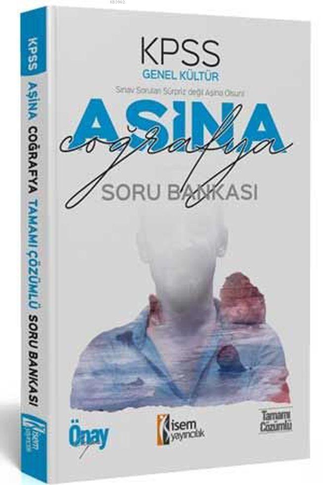 İsem Yayınları KPSS Coğrafya Aşina Soru Bankası