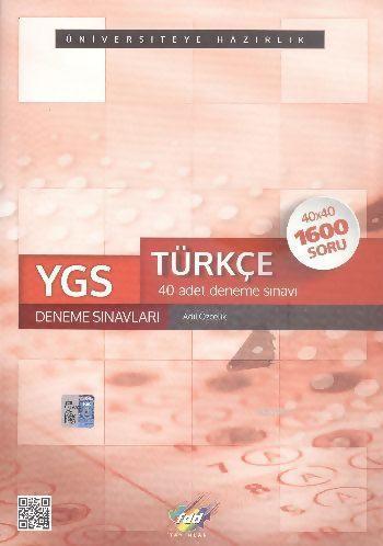 YGS Türkçe 40 Deneme Sınavları 40x40