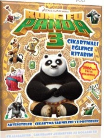 DreamWorks - Kung Fu Panda 3 (Çıkartmalı Eğlence Kitabım)