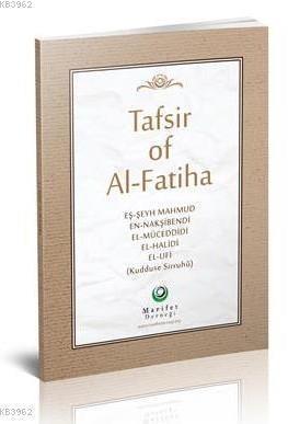 Fatiha Tefsiri İngilizce (Ciltli)
