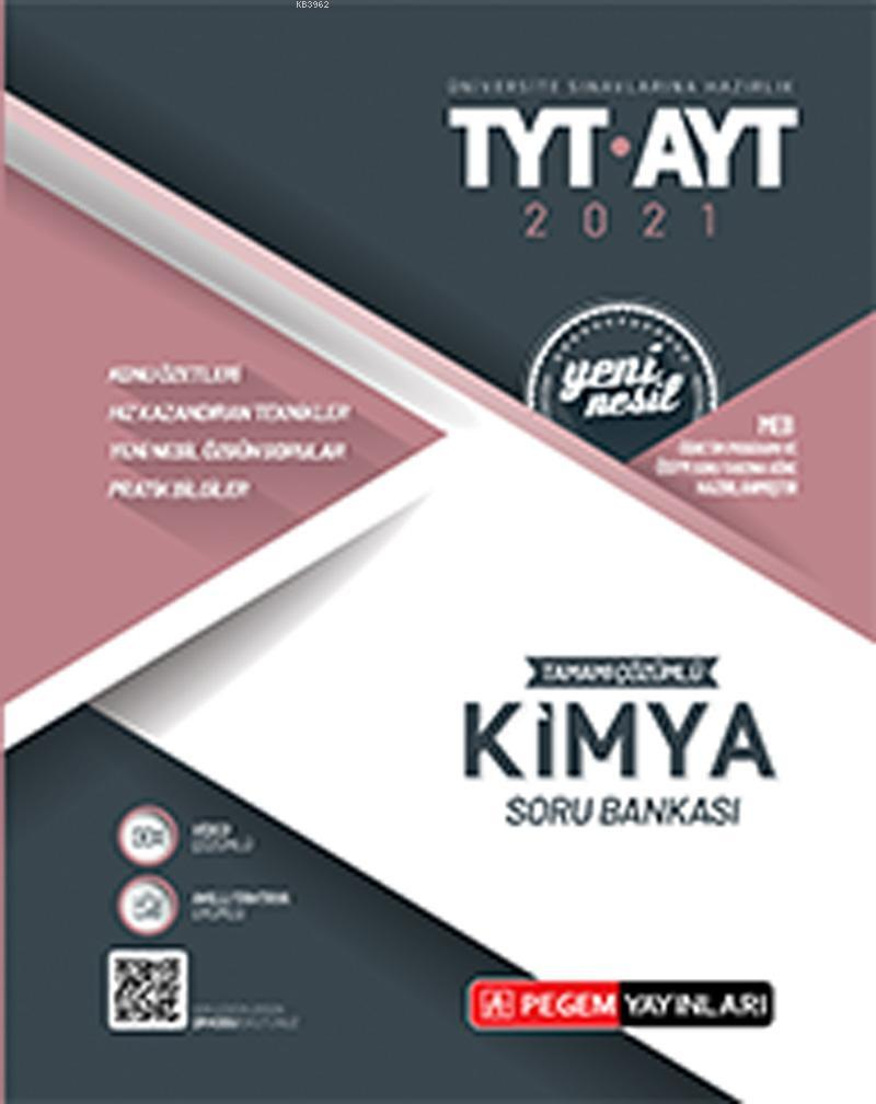 TYT-AYT Tamamı Çözümlü Kimya Soru Bankası