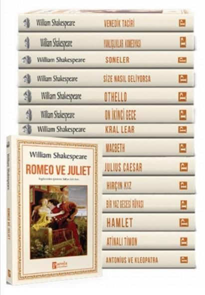 Shakespeare Eserleri Seti - 15 Kitap Takım