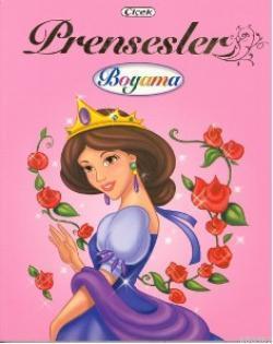 Prensesler Boyama 1