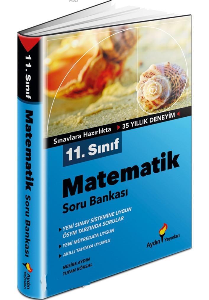 Aydın Yayınları 11. Sınıf Matematik Soru Bankası Aydın