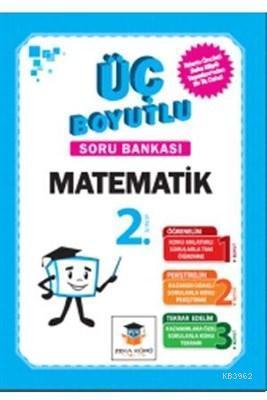 Zekaküpü - 2.Sınıf Matematik Üç Boyutlu Soru Bankası