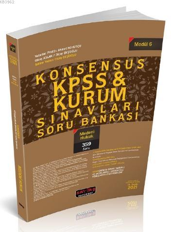 Konsensus KPSS Medeni Hukuk Soru Bankası