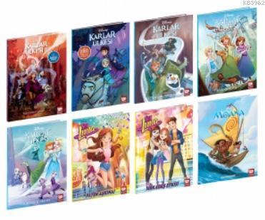 Disney Çizgi Klasikleri Kız Çocuk Set (8 Kitap)