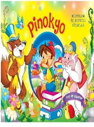 Pinokyo (Büyük Boy); Muhteşem Üç Boyutlu Kitaplar