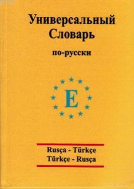 Üniversal sözlük Rusça - Türkçe ve Türkçe - Rusça