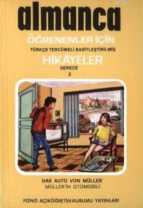 Türkçe Tercümeli Basitleştirilmiş Hikayeler| Müller'in Otomobili; Derece 2
