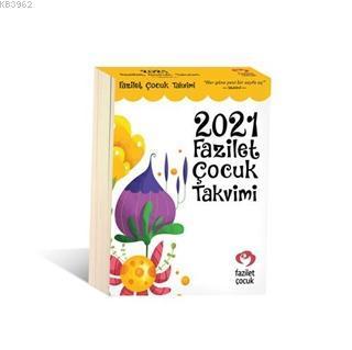 2021 Fazilet Çocuk Takvimi