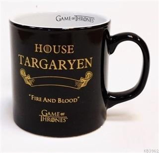 Game of Thrones Siyah Kupa - Gold Targaryen
