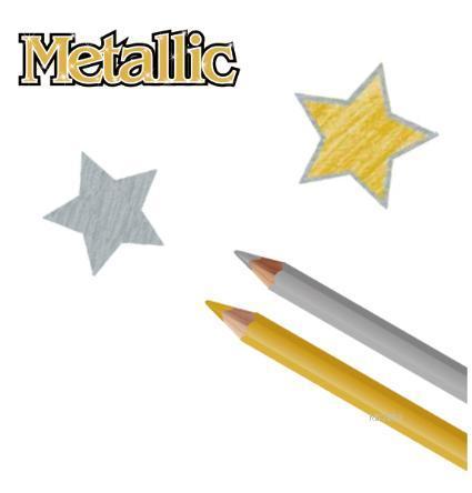 Pensan Metalik Jumbo Kurşun Kalem