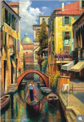 Anatolian Puzzle Venedikte Pazar / Sunday in Venice 3543 500 Parça