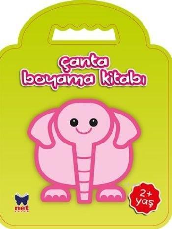 çanta Boyama Kitabı Fil 2 Yaş Kolektif 9786051242637