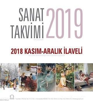 2019 Masa Takvimi - 2018 Kasım-Aralık İlaveli