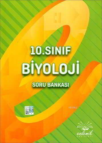 Endemik Yayınları 10. Sınıf Biyoloji Soru Bankası Endemik