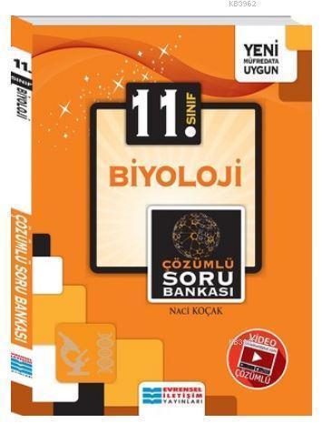 11.Sınıf Biyoloji Video Çözümlü Soru Bankası