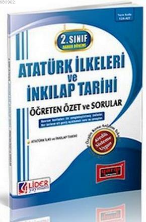 2. Sınıf Bahar Dönemi Atatürk İlkeleri ve İnkılap Tarihi Öğreten Özet ve Sorular