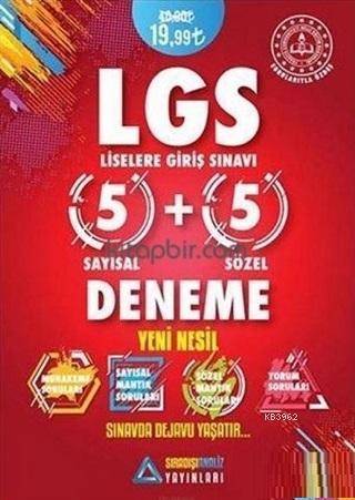 LGS Yeni Nesil 5 Sayısal 5 Sözel Deneme