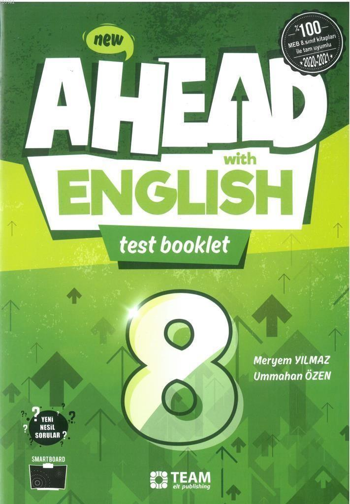 Team Elt Ahead With English 8 Test Booklet