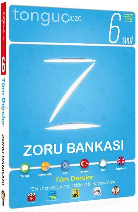 Tonguç Yayınları 6.Sınıf Tüm Dersler Zoru Bankası Tonguç